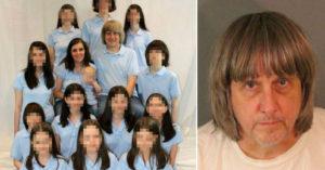 每人一樣詭異造型...惡毒父母虐待13名子女「用鐵鍊鎖在床上」,警破門後看到孩子已全變「吸血鬼家族」