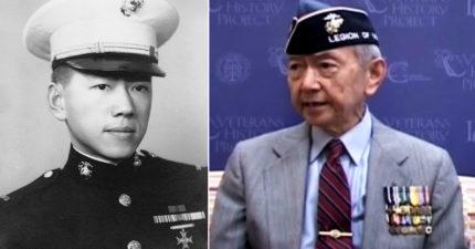 美國陸戰隊「史上首位華裔軍官」飽受歧視,利用血統騙敵軍「別開槍我是中國人!」解救8千歧視他的人