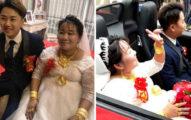 38歲富婆「嫁23歲鮮肉」開法拉利完婚,霸氣用2280萬「收服小1歲公婆」!