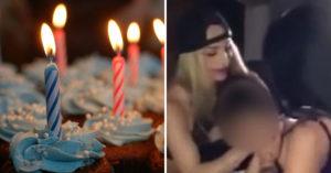 百萬富翁請脫衣舞孃「慶祝兒子12歲生日」,00:46玩「開汽艇」影片流出眾人譴責!(影片)
