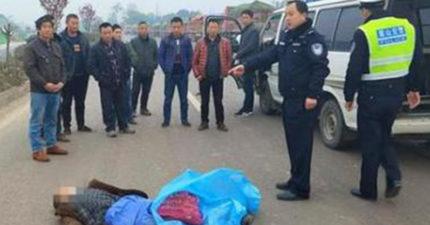 男子「肉包鐵」被貨車當場撞死!警察找來12違規駕駛「逼直視屍體」:這才是震撼教育!