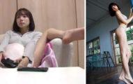 正妹模特兒岡田紗佳超愛「兩腳開開」,超邋遢私生活讓她年紀輕輕就得病…