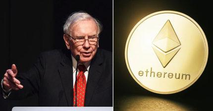 「以太幣」幹掉比特幣搶登虛擬貨幣王座!股神巴菲特預言:「比特幣或虛擬貨幣都不會有好下場」