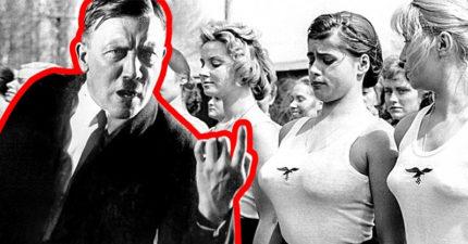 8個希特勒不可告人的秘密。他是推動禁菸觀念的世界第一人!