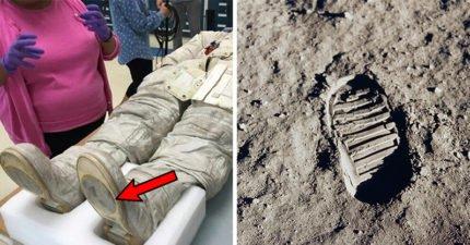 阿姆斯壯根本沒登入月球?太空衣顯示腳底模樣和「月球上腳印」完全不符合!