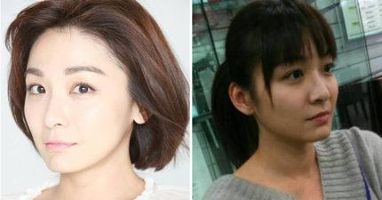 她39歲有著「台灣廣末涼子」之稱,拍戲「被打到腦震盪」後遺症纏身苦撐