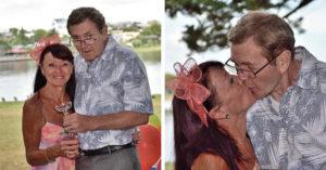 68歲失智阿公「徹底忘了結婚34年老伴」,不小心「再次愛上她」重新求婚舉辦婚禮!