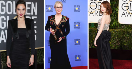 金球獎眾女星紛紛團結「齊穿黑衣」,共同響應「抵制好萊塢性騷擾」!