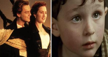 《鐵達尼號》沈船時「被媽媽哄入睡的小男孩」長大帥慘!他透露20年來每年靠《鐵達尼號》錢就賺這麼多!