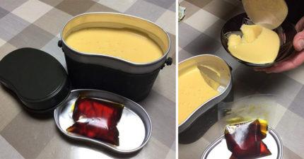 史上最夢幻便當!「超豪邁10人份飯盒布丁」一翻出來讓甜點迷失控!