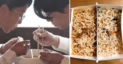 單身狗必學的「浪漫鴛鴦泡麵」!一碗泡麵2種口味神網友祭出製作方法,但有唯一的「缺點」!