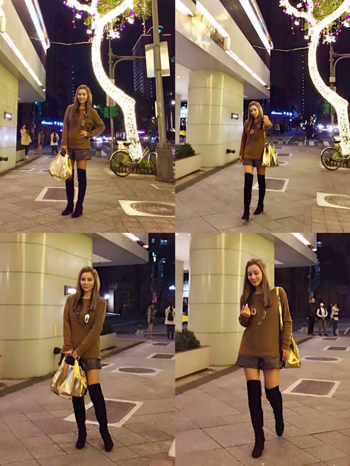 逆天美魔女!61歲陳美鳳曬「絕對領域」穿搭照,「性感時尚身形」網暴動:韓國年輕正妹都輸妳!