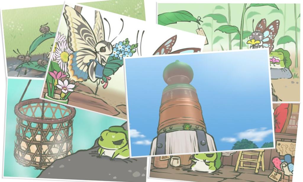 玩【旅行青蛙】的生活领悟 | 它不知道,我已经很努力,把最好的都给了它。