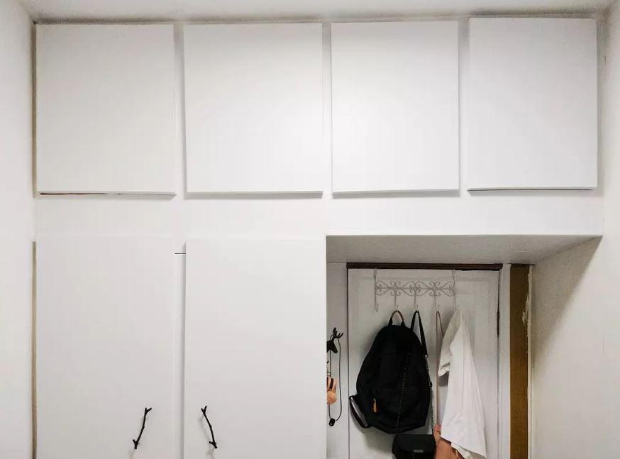 破舊髒亂3坪小房變身「純白北歐王國」 分享改造過程:不到1萬元!