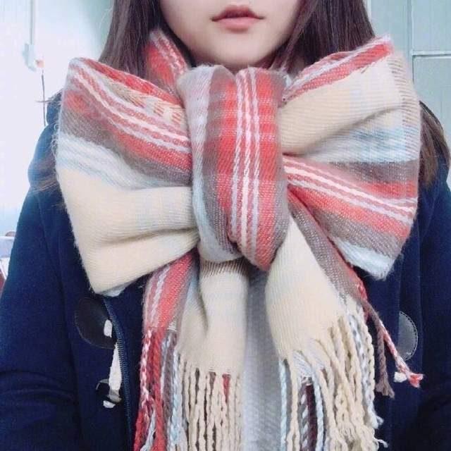 冬天必備超萌「圍巾蝴蝶結」馬上變少女!超簡單教學打法在此~