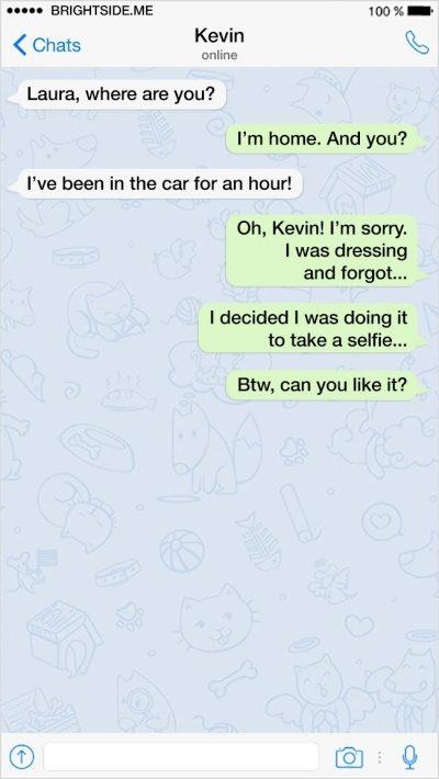 13個讓你知道「男生惹女生根本找死的」超機智搞笑簡訊!