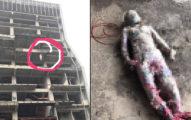 林口6樓懸吊「炸爛下體屍首」,里長手挫「解掉套繩」:真的感覺到不舒服...