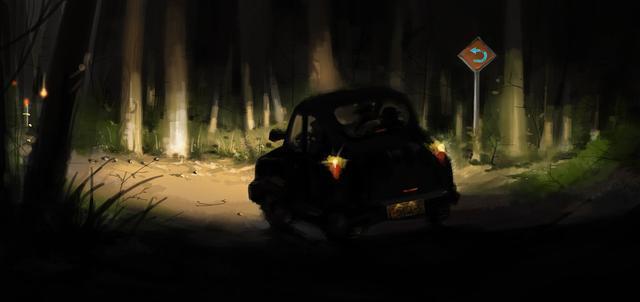 深夜行徑「不乾淨山路」遇到老人攔車...他秒想到「17年前父親弔詭故事」開口第一句就嚇到噴尿!