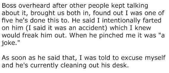 男同事一直假裝「碰撞胸部」最後還直接捏,她使出「最臭報復方法」讓男同事差點變性無能!