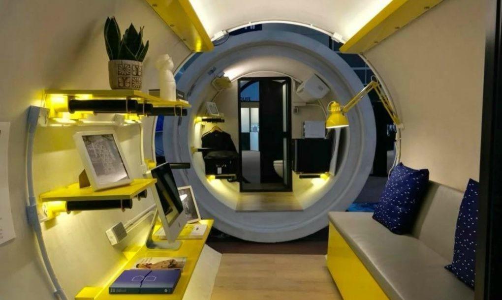 不吃不喝18年才買到房!香港建築師為此推出「3坪水管屋」,完美「廚房+衛浴+客廳」只要48萬!(16張+影片)