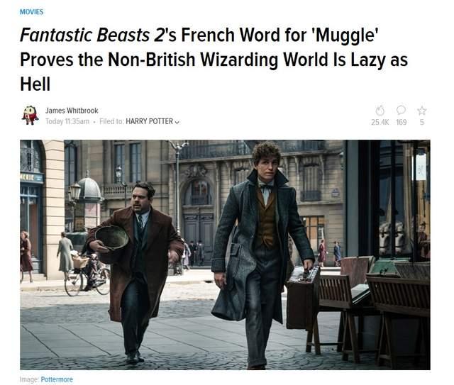 《怪獸2》導演透露「法國麻瓜不叫麻瓜」,法國粉絲氣pupu:在虧我們法國人笨?