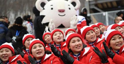 「北韓啦啦隊」冬季奧運光鮮亮麗,但背後有可怕的黑暗面