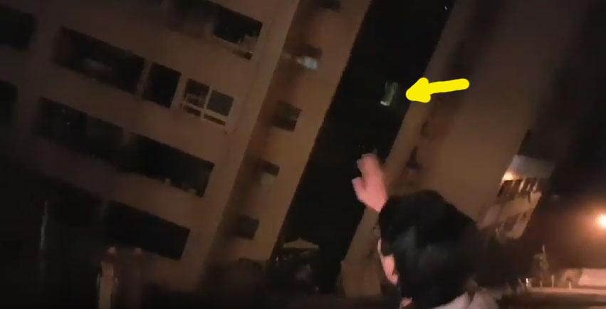 快訊/花蓮市商校街大樓+統帥飯店倒塌已有民眾拍到現場情況,救災人員:請互救自救,不要打燈 (影片)