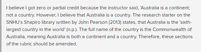 期末被當只因教授糾正「澳洲不是個國家」!女大生傻眼:以為她嘴砲...竟然認真的