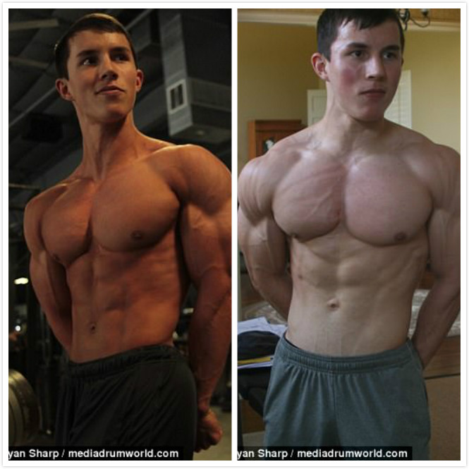 少年從12歲開始健身,5年後「肌肉炸裂」變超壯完美先生!翻輪胎、硬舉173公斤只是家常便飯
