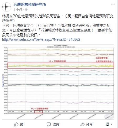 「地震預測文」惹毛氣象局!警告知名部落客限時刪文「否則重罰100萬」,他:要感謝我才對!