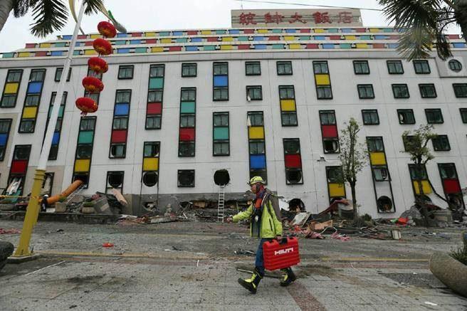 60年前統帥飯店區域也全倒過!宛如「轟炸過的廢墟」78歲嬤:市區幾乎倒一片