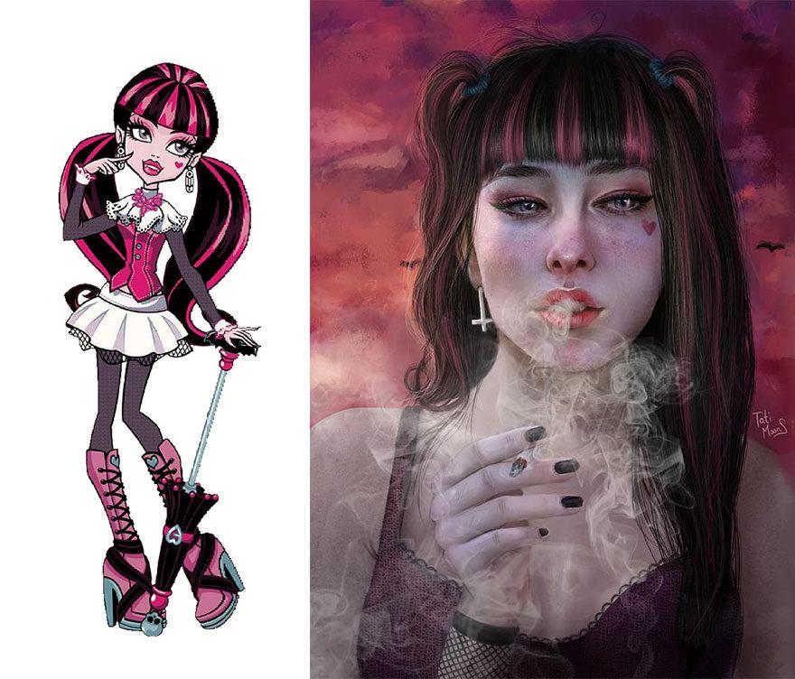 20張進化成更「貼近真人」的超曼妙卡通人物!美少女戰士叛逆超正!
