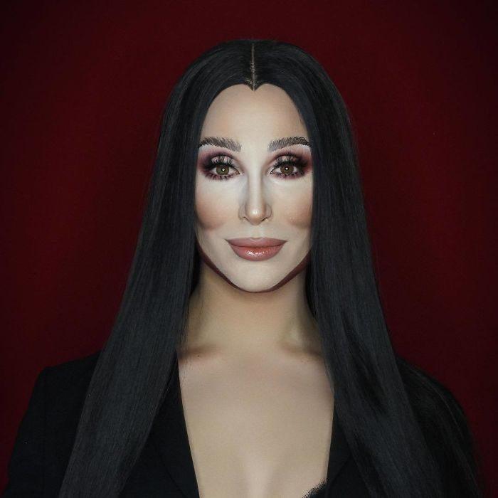 超強變裝皇后用「神級化妝術」化身各大明星藝人,卸妝後本尊模樣很帥!(30張)