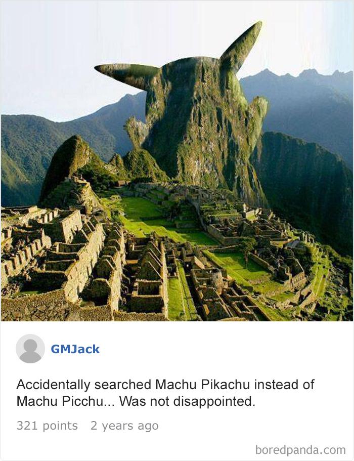 20個如果你Google時打錯字「搜尋結果不會讓你失望」的絕佳案例
