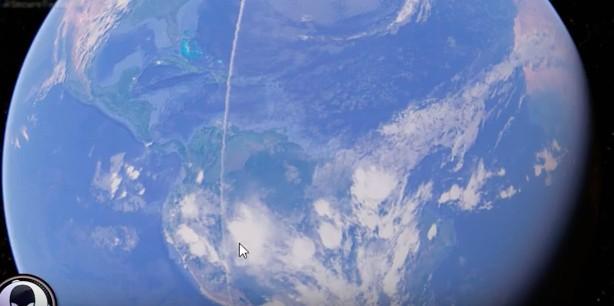 Google地球上出現長達2萬公里的「神祕白線」,他:這不是人類製造的