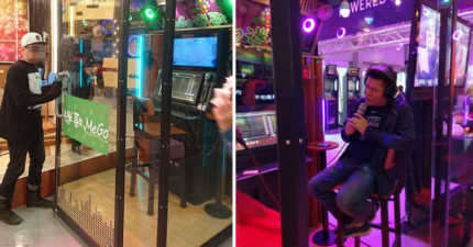 澎恰恰開最狂「邊緣人K歌電話亭」,一首30元排隊排到爆「半年就賺回來」!