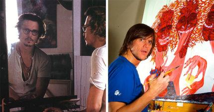 24個除了演戲還有不為人知另一面的「大明星背後特殊才藝」,金凱瑞其實是繪畫天才!
