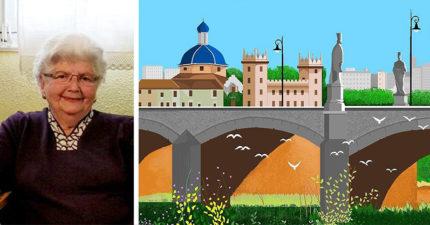 誰說小畫家只能用來截圖?87歲奶奶用小畫家「創作神級作品」屌打Photoshop!