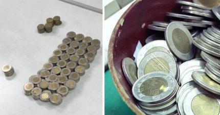 清潔工撿到「411枚50元硬幣」好心送警局 半年後「被警逮捕」:將依法處理