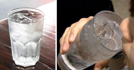 男子嫌天氣熱「一口氣灌2杯冰水」秒休克,「30小時動2次手術」才從死神手上撿回一命!醫生:喝錯了