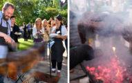 詭異!老外發現「外星人」直接整隻串起來燒烤,民眾紛紛排隊等吃...(7張)