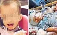 保母和男嬰「玩拋高高遊戲」,20天後可憐的孩子全身插管「只剩最後一口氣...」