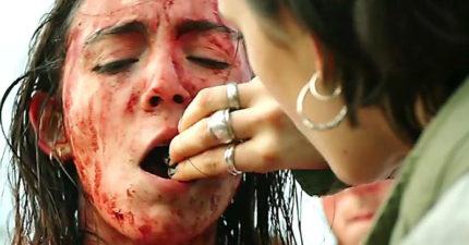 必吐!16部過去二十年來「最能讓人感到極限恐懼」的最嘔心限制級電影。《肉獄》「生吃自己的肉」活活吞下肚...