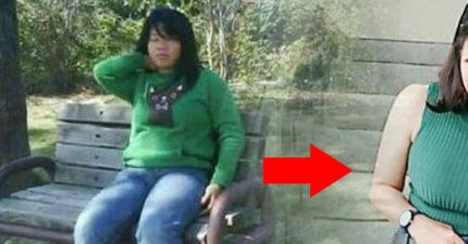 75公斤胖妹靠運動狂瘦25公斤,PO「潛力股驚人亮點照」網直呼:那個胸~羨慕