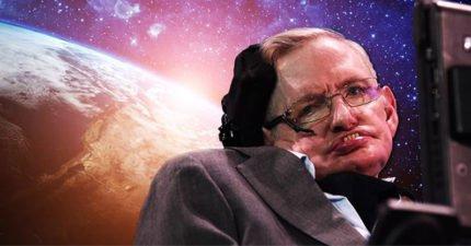 傳奇天才霍金生前留給人類的最後警告:100年內「必須離開地球」!