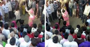 印度婦人和小王私奔,被老公綁在樹上「用皮帶狠鞭100次」還「任由圍觀村民輪暴她」爽觀賞