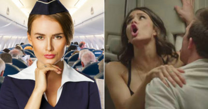 搭飛機玩ㄐㄐ!調查:15%乘客曾在空中啪啪啪,空姐現身說法「如何%%不被發現」!