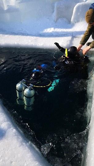50歲辣媽 40℃「泡貝加爾湖」保養嫩.奶,比基尼脫掉那一秒「體感溫度直飆+40度」