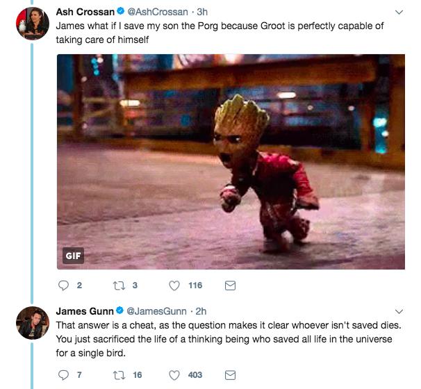 導演不小心劇透「格魯特已死」 他:小格魯特其實是...