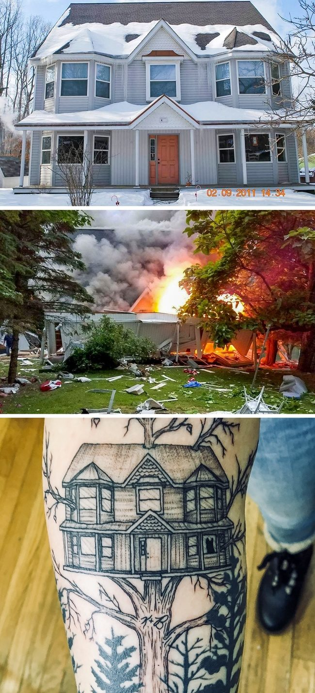 27個會讓你忍不住紅了眼眶的「最有意義刺青」!她把「燒傷痕跡」變成最華麗刺青